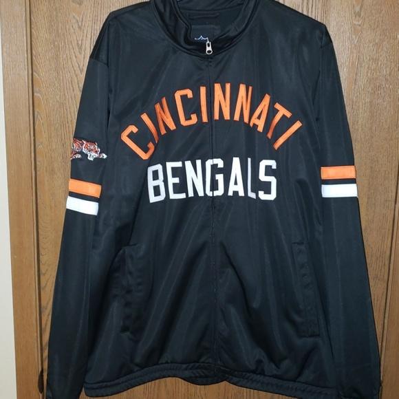 a65f7be9 NFL Mens Cincinnati Bengals jacket